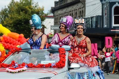 Homecoming Queens Pride Parade Ponsonby Road Auckland
