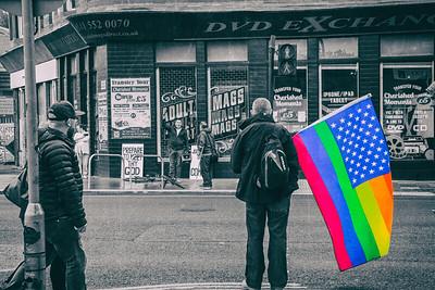 Pride meets Protester