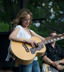 Chely Wright. Concert on the Pride Parade at Washington DC