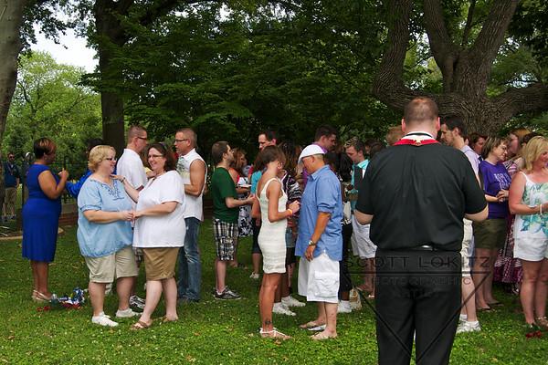 Pride's Commitment Ceremony