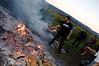 brady stoking fire