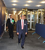 S M Krishna External Affairs Minister  coming out of the UN Securiety Council on 22nd sept -2011 Pic Mohammed Jaffer-SNapsIndia