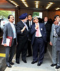 S M Krishna External Affairs Minister brefied about the Construction of the UN Building NY Headquarters by Ambassador Hardeep Singh Puri on sept 22nd -2011...pic Mohammed Jaffer-SnapsIndia