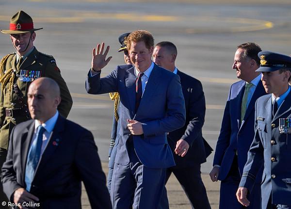 HRH Prince Harry Arrives 2015