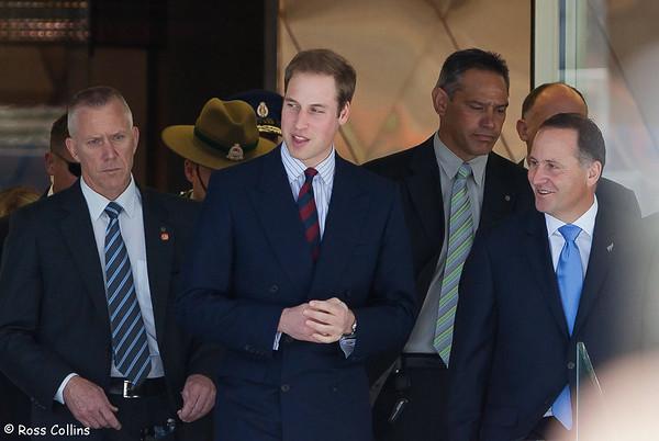 HRH Prince William  in Wellington 2010