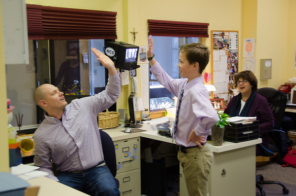 Principal for a Day - March 2015