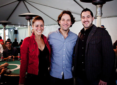 Actor Paul Rudd and friends