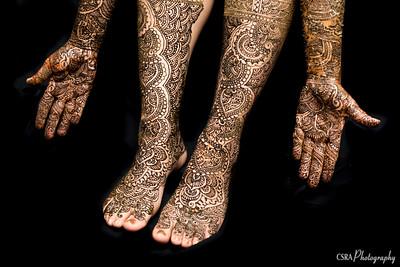 Day 2 - Bride's Mehndi