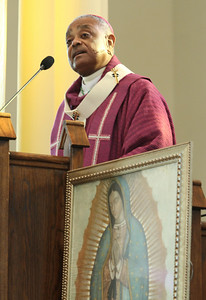 Archbishop Wilton D. Gregory was the main celebrant and homilist for the Jan. 21 Mass For The Unborn.