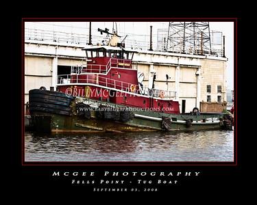 Fells Point - Tug Boat - 05 Sep 08
