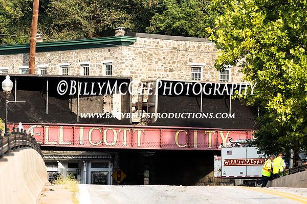 Ellicott City Train Derailment - 21 Aug 2012