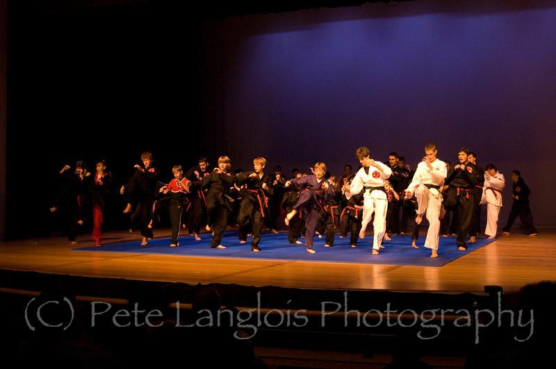 Professional Martial Arts Academy Black Belt Extravaganza November 24, 2007 held at Pinkerton Academy's Stockbridge Theater in Derry, NH