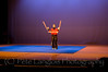 Professional Martial Arts Academy Black Belt Extravaganza November 24, 2007 held at Pinkerton Academy's Stockbridge Theater in Derry, NH - Sensei Laura from PMA Academy in Derry performs a 3 sectional staff demonstration