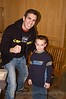 "Professional Martial Arts Academy Black Belt Extravaganza November 24, 2007 held at Pinkerton Academy's Stockbridge Theater in Derry, NH - UFC and T.U.F. veteran Kenny ""KenFlo"" Florian with my son Eric."