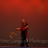 6th Degree Black Belt, Professor Tim Barchard performs his Kama routine.