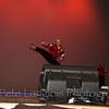 "Sensei Joe and Dakota ""Hollywood"" perform for the crowd"