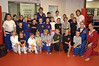 A group shot of the 27 participants of the Kick-A-Thon and instructors.  Also, Tracy Jansen-LaPlante (standing far right) executive director of The Met.