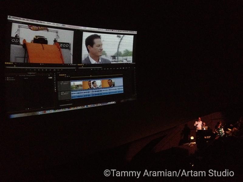 Premiere demo at Creative Suite 6 launch San Jose June 2012