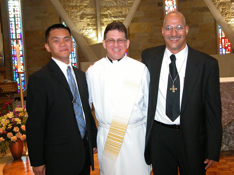 Br. Long, Dn. Mark and Br. Clay