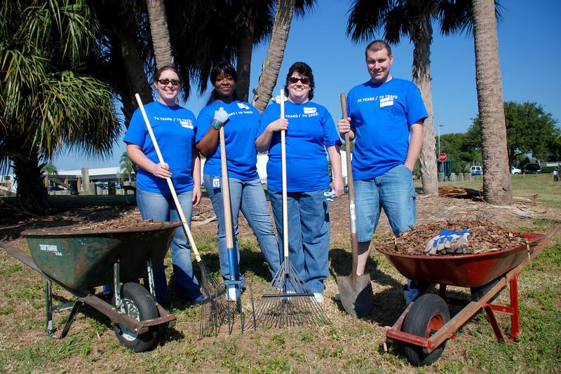 Tampa CLRU<br /> Janelle Szani, Nura Washington, Alanna Queener, and Adam Elders