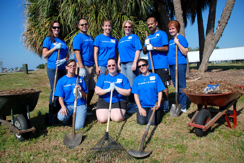 Tampa Processing & Accounting Services<br /> Back Row - Kathy Whitcomb, Isreal Garcia, Nikki Nadrash,  Jamie Canfield, Sam Patel, Patti Meeks<br /> Front Row - Michele Cervi, Kylene Leon, Tracy Holmes