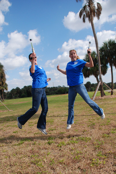 Reps like Kathy & Nikki pictured here, jumped at the chance to be a part of Tamps'a tree planting event!