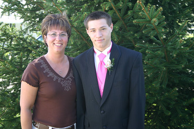 Lori and Alex, doesn't he look happy.  ( 2007 )
