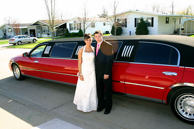 Erin and Alex on their way to prom.  ( 2007 )