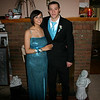 Alex and Erin all dressed up for the Wilton senior prom.  ( 2008 )
