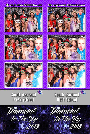 South Garland HS Prom 2013 Strips