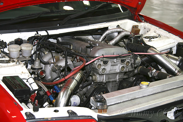 "<font color=""yellow"">The SR20 engine.</font><br>"