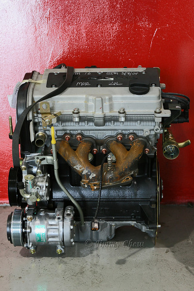 Engine block.
