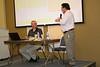 Fr. Jack Kurps thanks Fr. John van den Hengel for his presentations