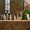Fr. Leonard Elder, Fr. Claudio Dalla Zuanna (general councilor) Fr. Richard MacDonald, Fr. Tom Cassidy and Fr. Wayne Jenkins during the opening Mass.