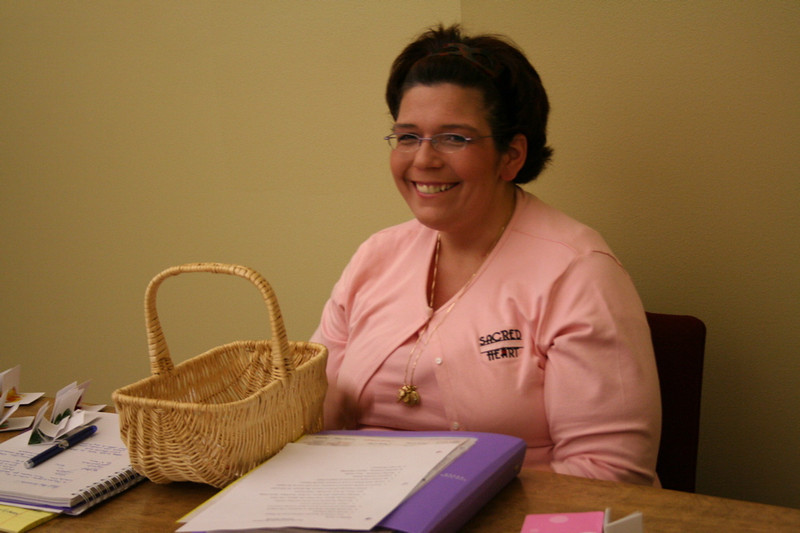 Lisa Brahm, administrative assistant for the Provincialate.