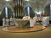 The Eucharist at the closing Mass.