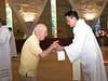 Br. Jim Willis and Fr. Joseph Dinh.