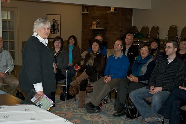 03-21-10 Public Reading from Author Marlene Macke