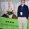 Chris Brooks at the Roots & Shoots booth at the National Day of Service