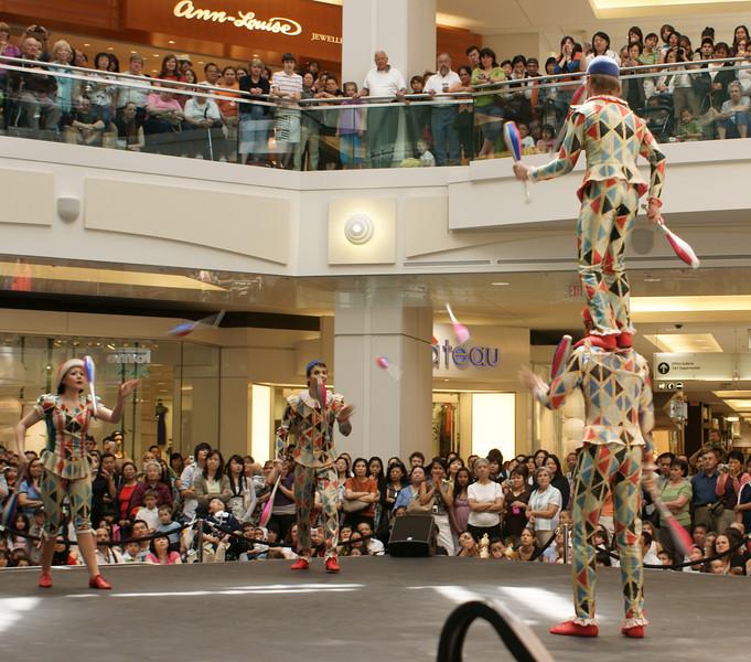Cirque du Soleil at Metrotown