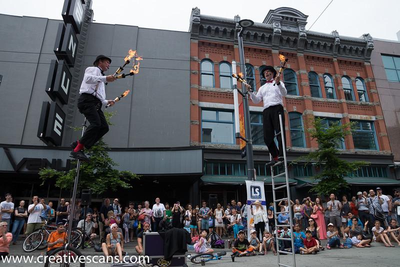 Vancouver Buskerfest 2015