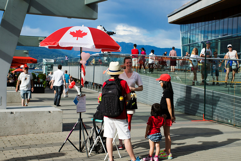 Canada Day 2014 in Vancouver