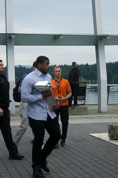 Seattle Seahawks in Vancouver