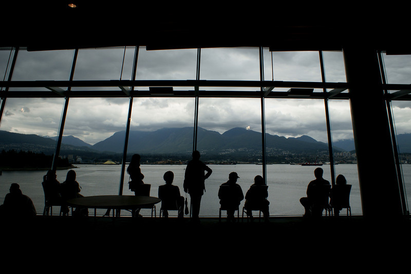 Vancouver convention center open house 2009.
