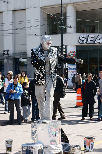 Street performer 2010
