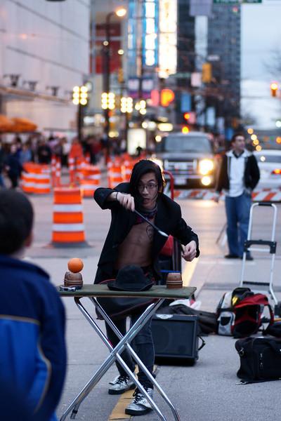 """Eden"" street performer 2010."