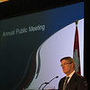 2013 Vancouver Airport Authority's Annual Public Meeting. Larry Berg, President and Chief Executive Officer