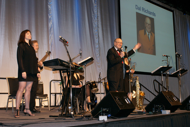 The Dal Richards Orchestra, Vancouver Convention Center expansion opening April 2009