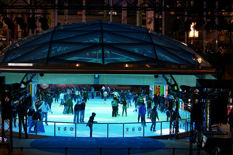Robson Square ice rink 2010.