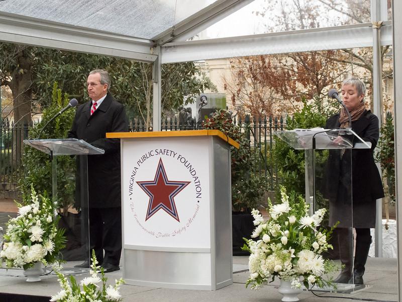 Commonwealth Public Safety Memorial Dedication